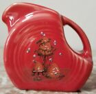 Mini Disc Pitcher Fiesta - Scarlet Red w/ Bees / Hives - USA