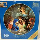 Precious Moments Puzzle 500 Pieces The Nativity By Rose Art Sealed Collectors Ed