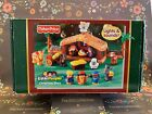 Fisher Price Little People Christmas Story Lights  Sounds Nativity Scene Works