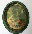 Vintage Oval Victorian Picture Frame Cheswick PA Trade Mark Made in Italy OFM