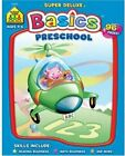 School Zone Preschool Basics Workbook 96 Pages Ages 3 to 5 Alph