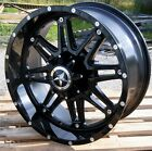 20 Gloss Black Lonestar Outlaw Wheels 20x9 6x135mm +0mm Ford F150 Expedition