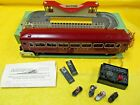 American Flyer Gilbert 766 Animated Station and Passenger Car