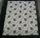 All My Toys I Love To Share Blue Jean Teddy Bear Baby Blanket quilt Comforter