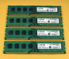 Crucial 16GB 4 x 4GB PC3 10600U Dell Optiplex 790 990 XPS Inspiron Vostro Memory