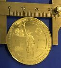 Statue Of Liberty Bell Land Of Opportunity Rights Coin Medal
