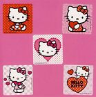 10 Hello Kitty Valentines Day Large Stickers Hearts Party Favors
