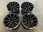 2016 2019 Ford Mustang GT350 OEM Wheels Black Chrome PVD Coated Set of 4