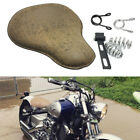 Bobber Motorcycle Solo Seat Leather Classic For Yamaha XVS Dragstar 400 650 1100
