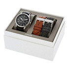 NWT Fossil Flynn Pilot Multifunction Interchangeable Strap Set BQ2308SET $185