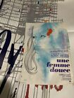 2 Original french Movie posters Jacques Tati PlayTime 183x122cm Une Femme Douce