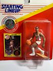 Spud Webb 1991 Atlanta Hawks Starting Lineup Kenner + coin