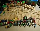 Huge Lot 204 Thomas The Tank Engine Wood Track Buildings Accessories Trains Set