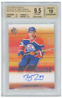 2015-16 SP Authentic CONNOR McDAVID Sign Of The Times Rookie Auto 45 99 BGS 9.5!