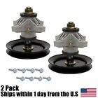 2PK Raptor Spindle Assembly for MTD Cub Cadet 42 Deck LT1042 Mowers 918 04124A