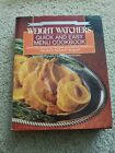 Weight Watchers Quick And Easy Menu Cookbook Over 250 Recipes