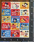 MICKEY MOUSE  FRIENDS MOTIVATIONAL MESSAGES ONE SHEET BEAUTIFUL STICKERS MO07