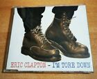 ERIC CLAPTON I'm tore down RAREST SPANISH PROMO CD SINGLE M80 RADIO TOUR DATES