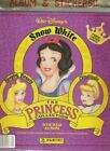 DISNEY THE PRINCESS COLLECTION PANINI COMPLETE 240 STICKER CARD SET