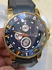CORUM ADMIRALS CUP TIDES 40mm 18k Yellow Gold case 977.673.55 AUTOMATIC PREOWNED