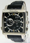 Ulysse Nardin GMT Quadrato Dual Time 18k White Gold Watch Box Papers 320-90