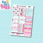 A167 Morning Macaroon Weekly Kit Planner Stickers for Erin CondrenHappy