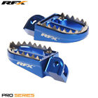 Sherco SE 50 R Enduro Factory 2016 RFX Pro Series Blue Shark Teeth Footrests