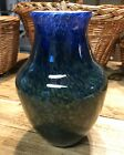 Todd Hansen Art of Fire Swirl Glass Vase 2004 9 Tall w Etched Signature