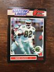 1989  MIKE QUICK - Kenner Starting Lineup Card ( 1 on 1 ) PHILADELPHIA EAGLES