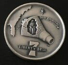 Mercury 4 Liberty Bell 7 Sub Orbital Flight Coin Medal NASA Space Moon