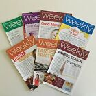 7 WEIGHT WATCHERS Weekly Guide Books 2010 With Recipes