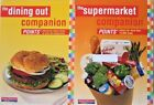 Weight Watchers 123 Success Supermarket  Dining out Companion book set