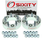 2pc 5x127mm to 5x1143mm Wheel Spacers Adapters 15 for Jeep Commander nl