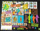 Scooby Doo Scrapbook Kit Project Life Paper die cuts Shaggy Fred Velma