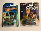 Hot Wheels Pop Culture ScoobyDoo Quick DLivery 2013 and The Mystery Machine 2013