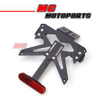 Tail Tidy Plate Bracket Licence Light Fit Motocycles Reflector