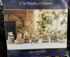 Promise of Christmas Deluxe 7 Piece Children Nativity figurines VG 200213