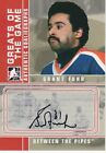 2008-09 ITG Between the Pipes Goaliegraph Autograph #A-GF Grant Fuhr