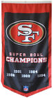 San Francisco 49ers 5 TIME Super bowl Champions Flag Banner Man Cave 30x50Inch