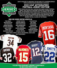 2019 LEAF AUTOGRAPHED FOOTBALL JERSEY EDITION FACTORY SEALED 10 BOX CASE