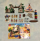 Lego 6748 Western Native American Boulder Cliff Canyon Includes All Minifigures
