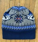 Vineyard Vines Marlin Knit Hat Lined Winter Beanie Men's One Size NWT