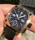 Steinhart Aviation 44mm Swiss Mechanical Unitas 6498 Pilot Rose Steel Carbon
