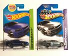 Hot Wheels Nissan Skyline GT R R34 ZAMAC 2013 and Blue Color Variation 2014