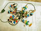 Vintage Disney Mickey Mouse  Friends 10 pc Christmas Light Characters 1 Strand