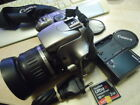 CAMERA CANON EOS 300D WITH 18-55 LENS AND MEMORY CARD ORIGINAL CHARGER £85