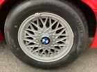 BMW E30 325i 318i 318is 325is OEM 14x65 BBS basketweave style 5 wheels