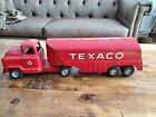 Buddy L Red Texaco Tanker Truck - Vintage  Oil, Gas, Car collectors!