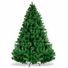 6FT Christmas Tree PVC Artificial 1000 Tips Hinged w Solid Metal Legs Holiday