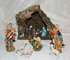 VINTAGE 1970S NATIVITY SET MADE IN ITALY 16 PIECES
